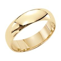 3mm Plain Wedding Band in 14K Yellow Gold | Shop Your Way ...