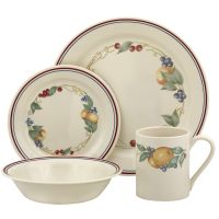 Corelle Impressions Watercolors 16 Piece Dinnerware Set