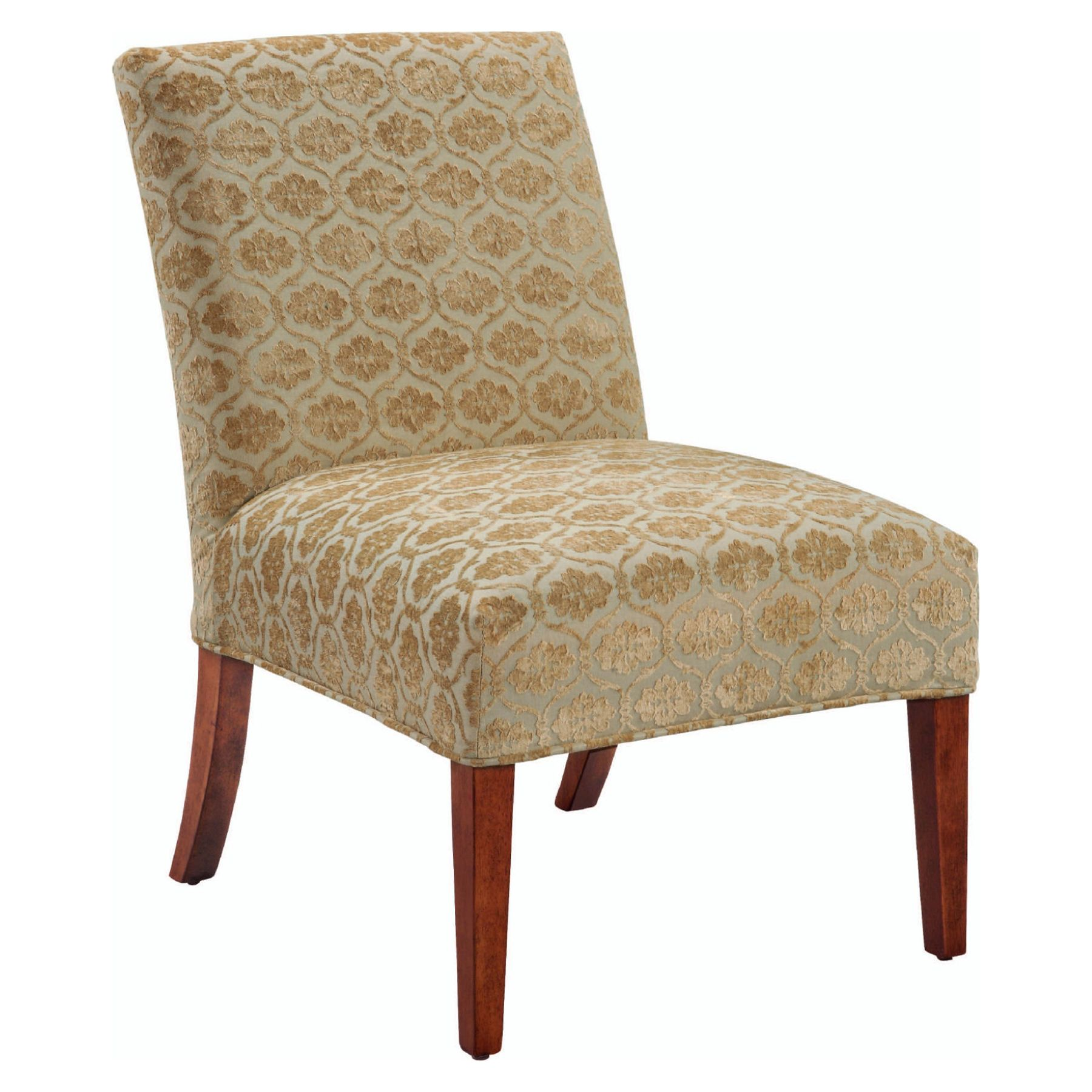 slipcover for armless slipper chair swing history 6091482 damask sears outlet