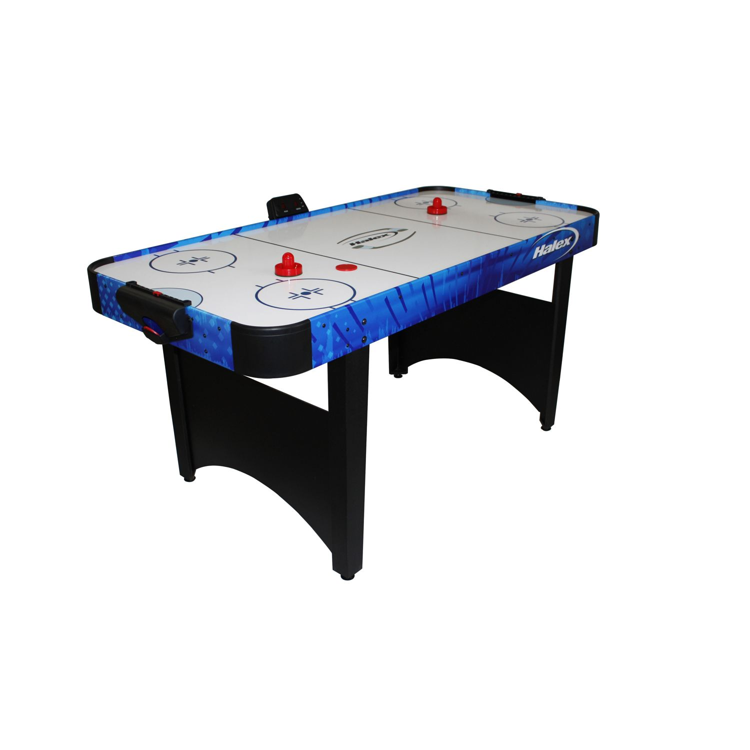 Halex 66in Air Hockey Table With Tennis Top