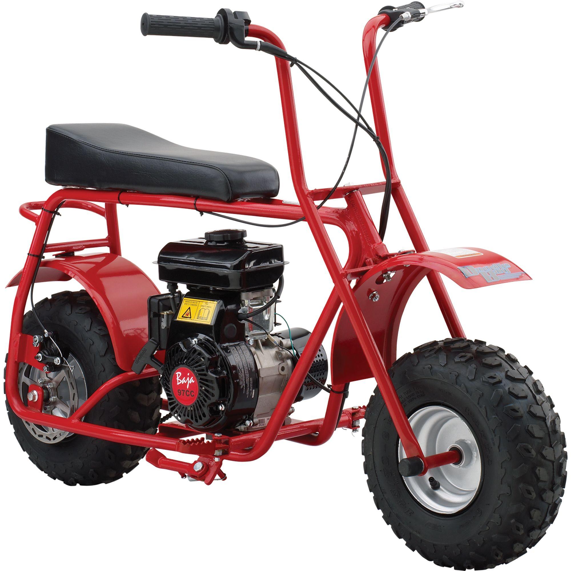 Baja Doodle Bug Mini Bike 97cc 4 Stroke Engine