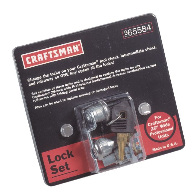 Toolbox lock set Keep your tools protected Sears