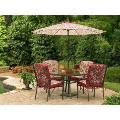 Dining Chair Cushions Kmart Ethan Allen Swivel Essential Garden Laurelhurst 4 Cushion Patio Chairs