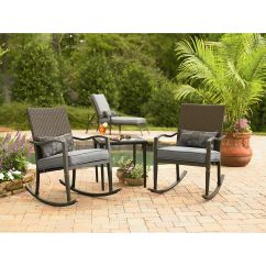 Garden Oasis Patio Chairs Baby Booster Chair Parker 3 Piece Set Outdoor Living