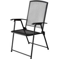 Garden Oasis Wrought Iron Folding Chair