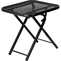 Garden Oasis Wrought Iron Folding Patio Table - Limited ...