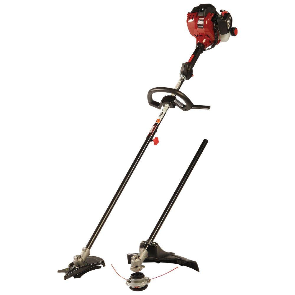 medium resolution of craftsman gas trimmer full crank brushcutter weedwacker combo 27 cc 2 cycle