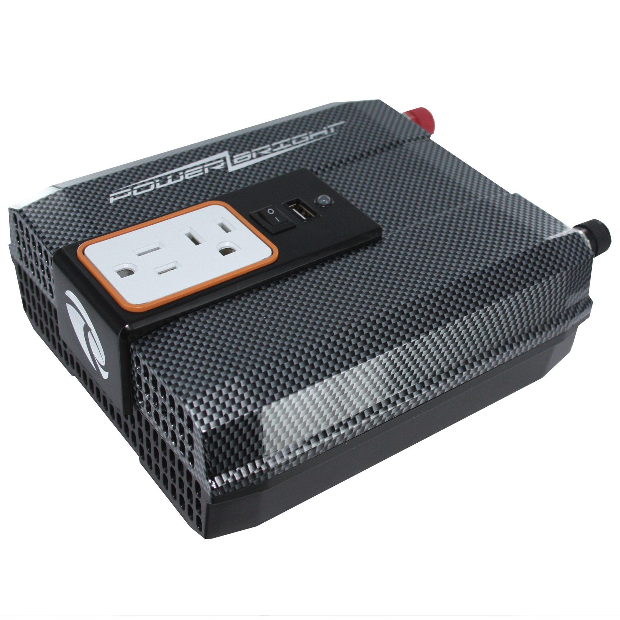 Power Bright Inverter 750 Watt 12v Dc 110v Ac With Usb - Automotive Batteries