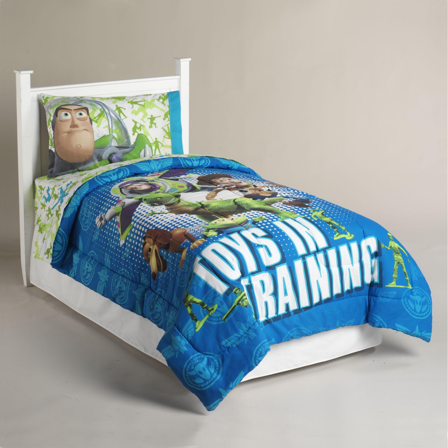 Disney Toy Story Buzz Lightyear Twin Comforter