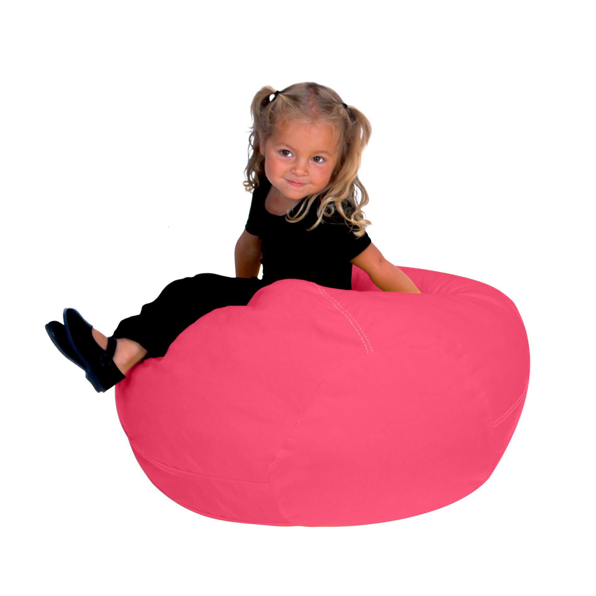 Bean Bag Chair Covers Only Upc 752747158055 Bean Bag Factory Magenta Vinyl Beanbag Chair