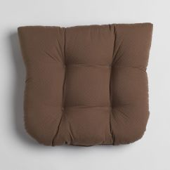 Foam Cushion Inserts For Chairs Resin Chaise Lounge Chair With Slat Seat Essential Home Memory Brown Pads