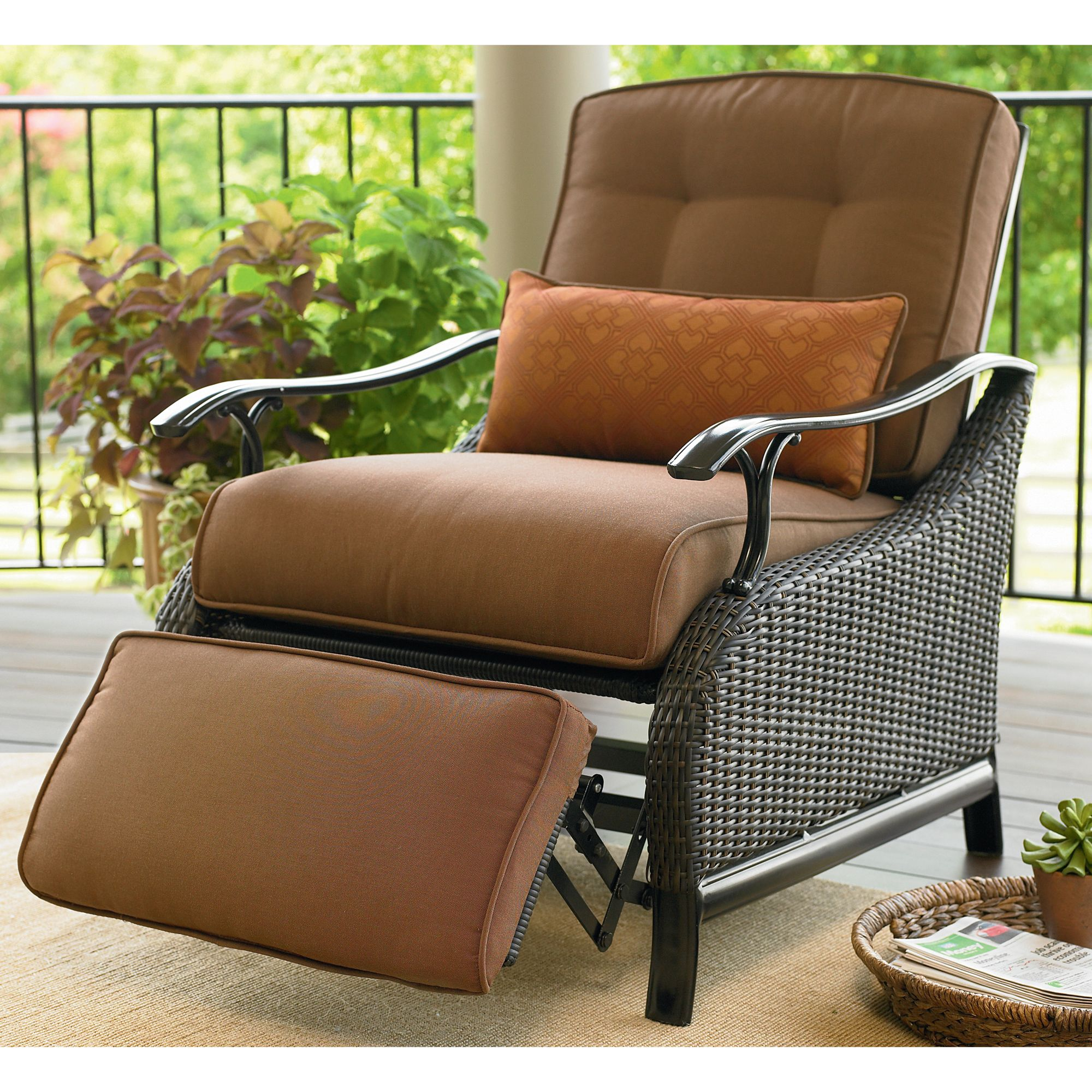 Outdoor Reclining Chair La Z Boy Outdoor Austin Recliner Shop Your Way Online