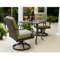 3 Piece Patio Bistro Set | Patio Design Ideas