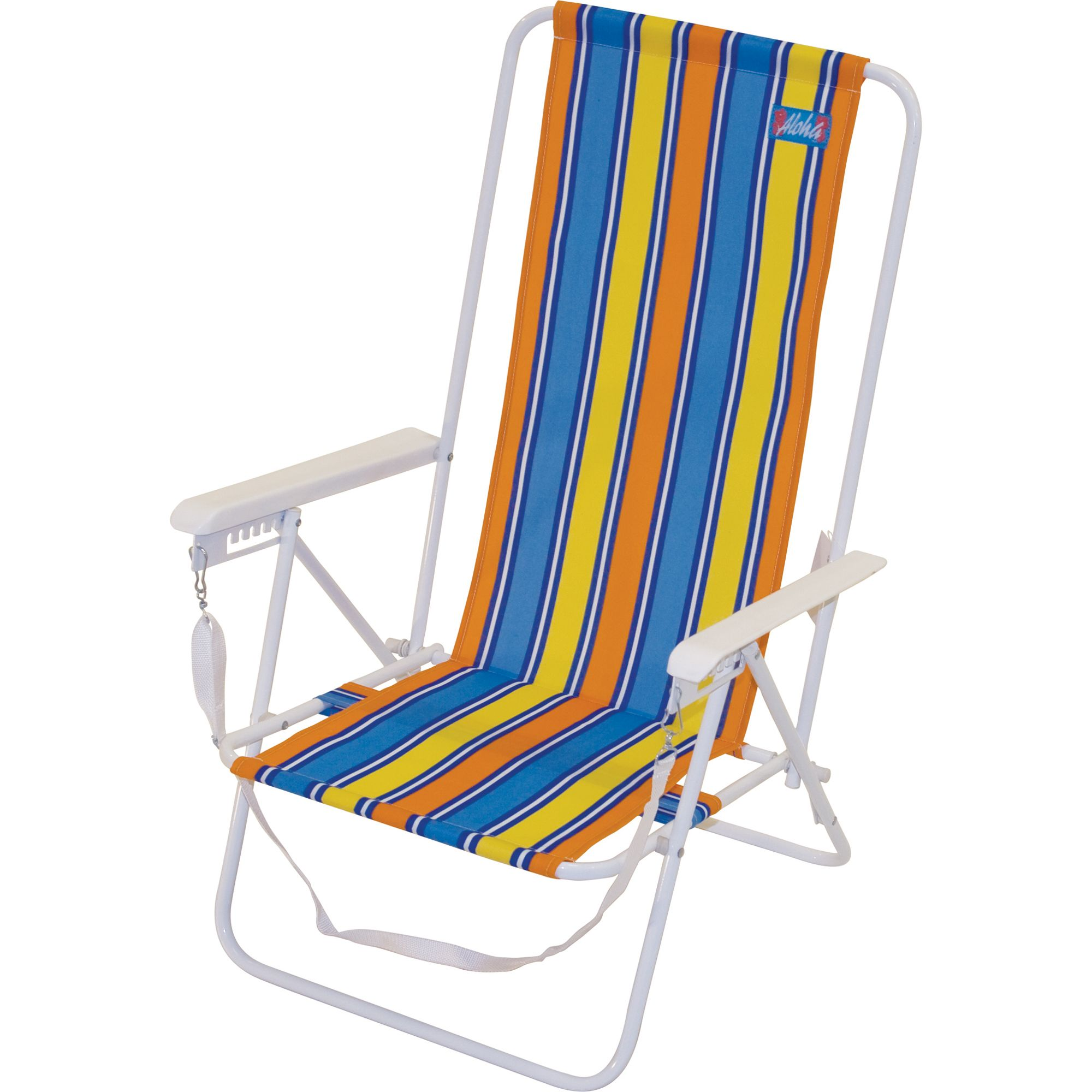 Brazil style high back beach chair outdoor living patio furniture