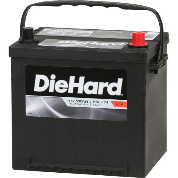 Diehard Automotive Battery- Group Size 26r With Exchange Online