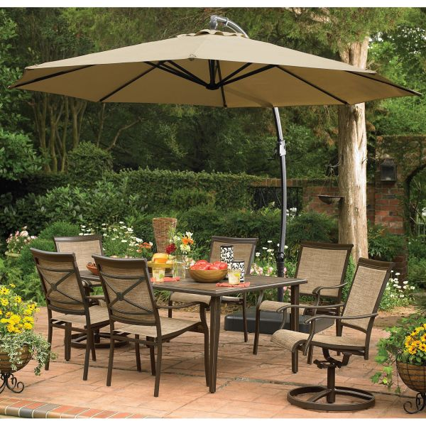 Upc 805670024253 - Garden Oasis Replacement Canopy 11.5 Ft. Offset Umbrella Limited