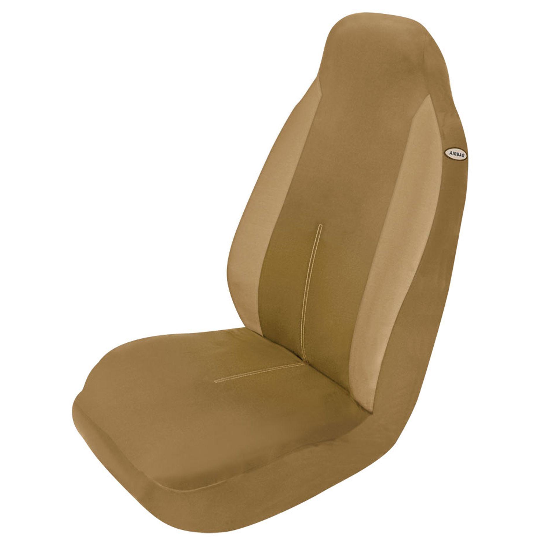 Elegant Usa Seat Cover Phoenix High Back Tan Automotive