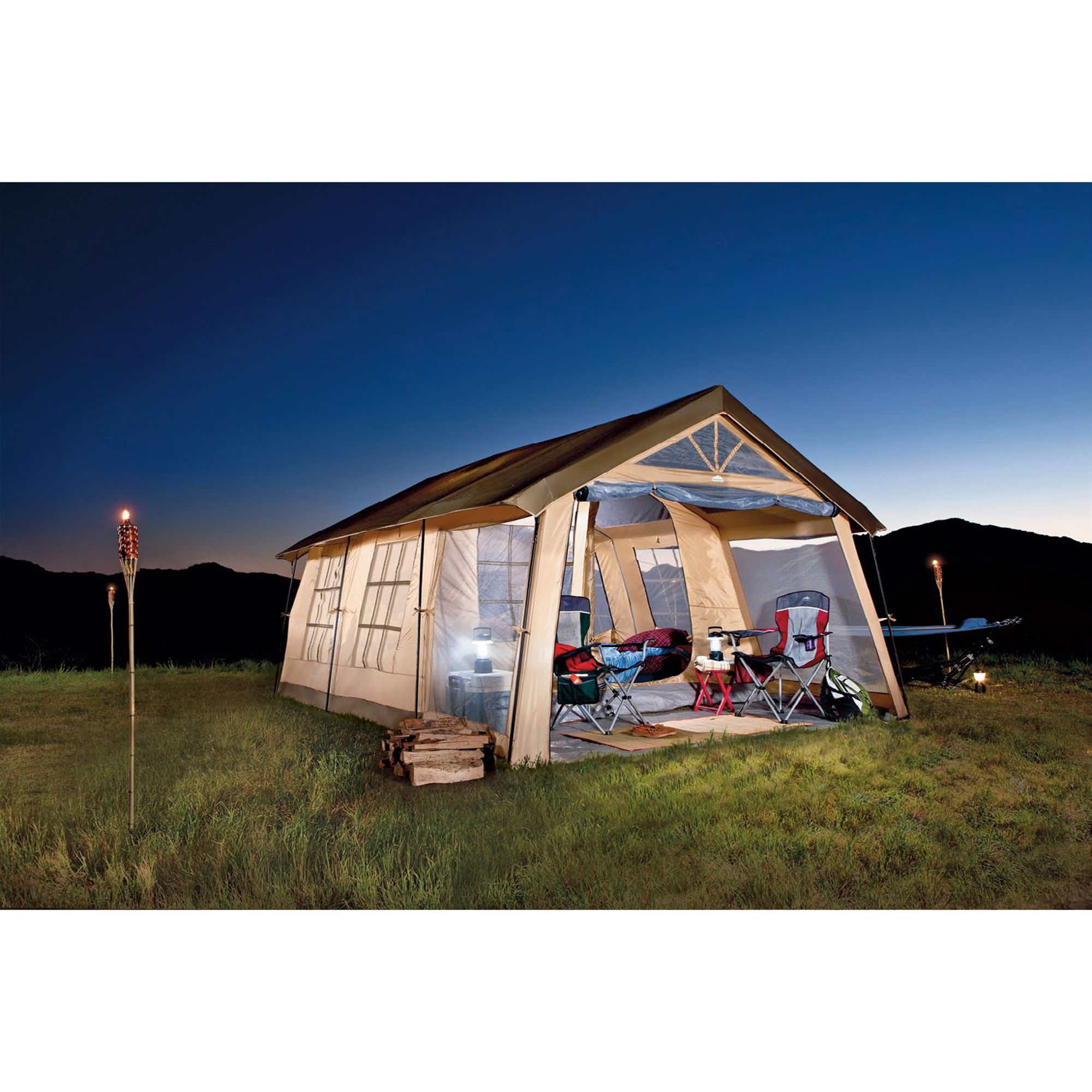 Northwest Territory Front Porch 10-person Tent - Fitness & Sports Outdoor Activities Camping