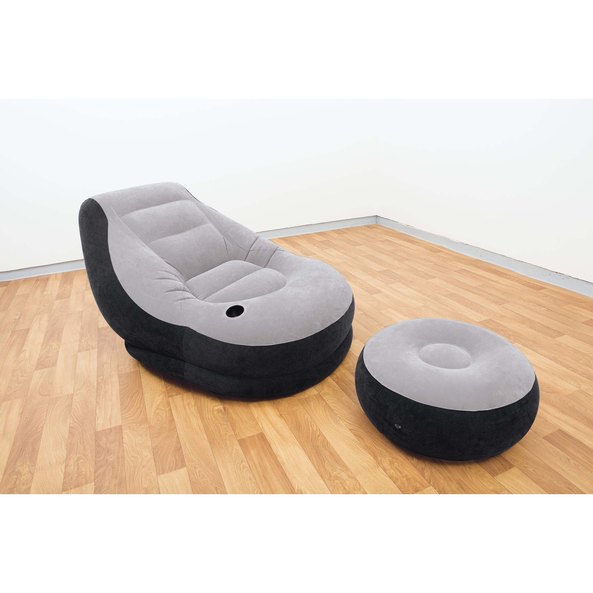 intex inflatable sofa kmart cheap sectional beds lounge chair kick back with