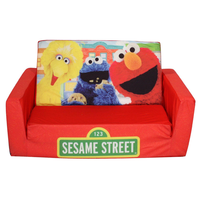 sesame street flip open sofa with slumber bag bed canada kijiji marshmallow fun co
