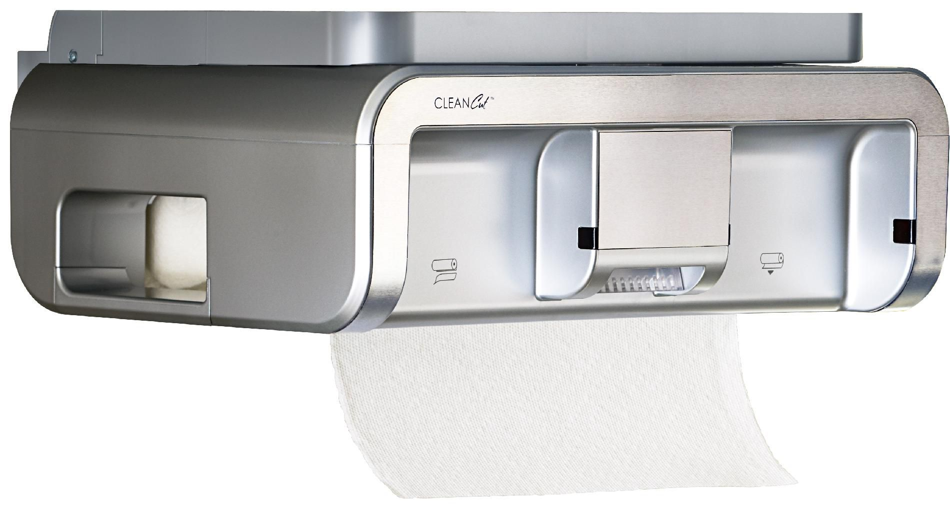 automatic paper towel dispenser for kitchen painting cabinets ideas find price of cleancut cc3300 touchless