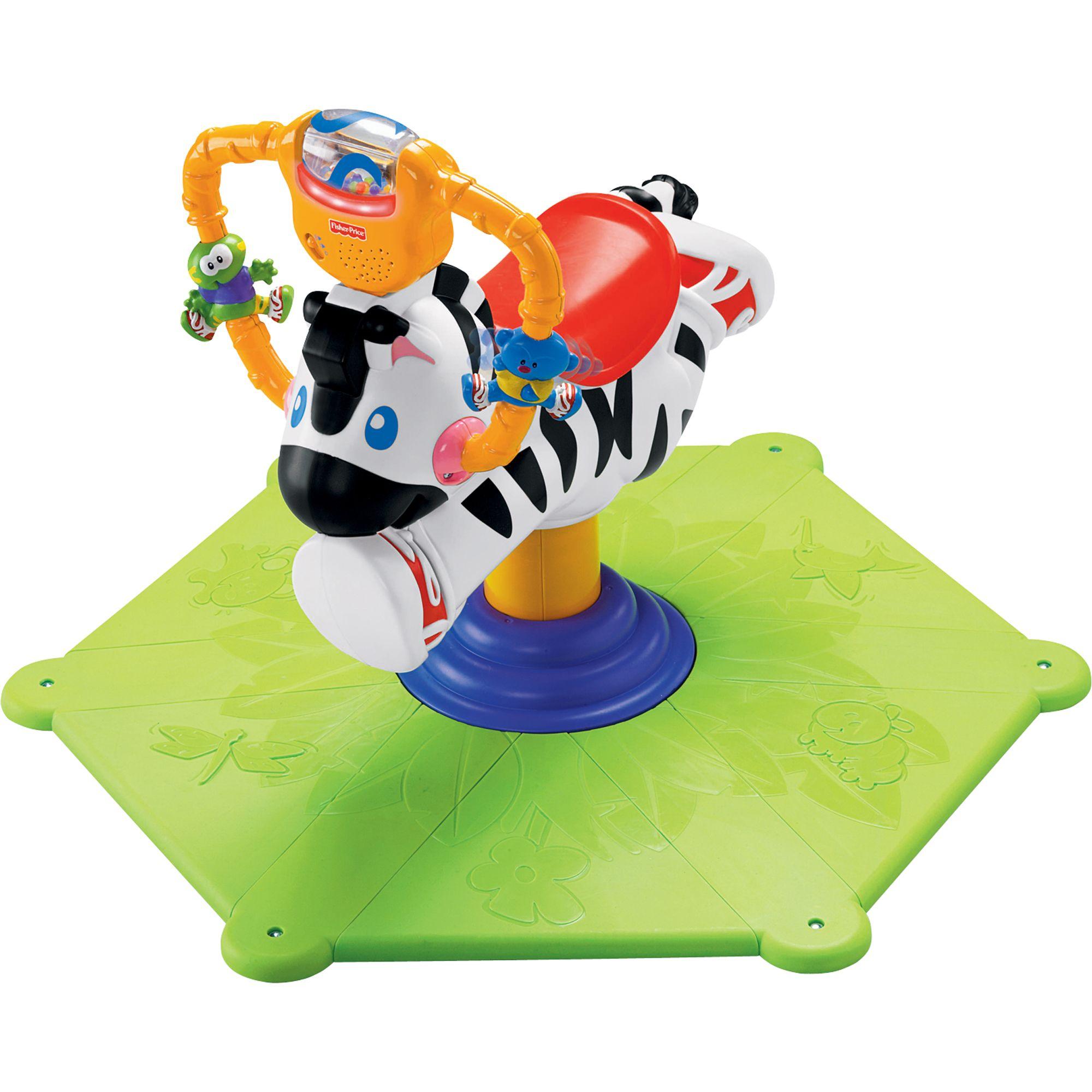 Baby Bounce & Spin Zebra