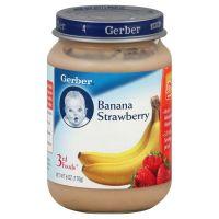 Gerber 3rd Foods Banana Strawberry, Crawler, 6 oz (170 g)