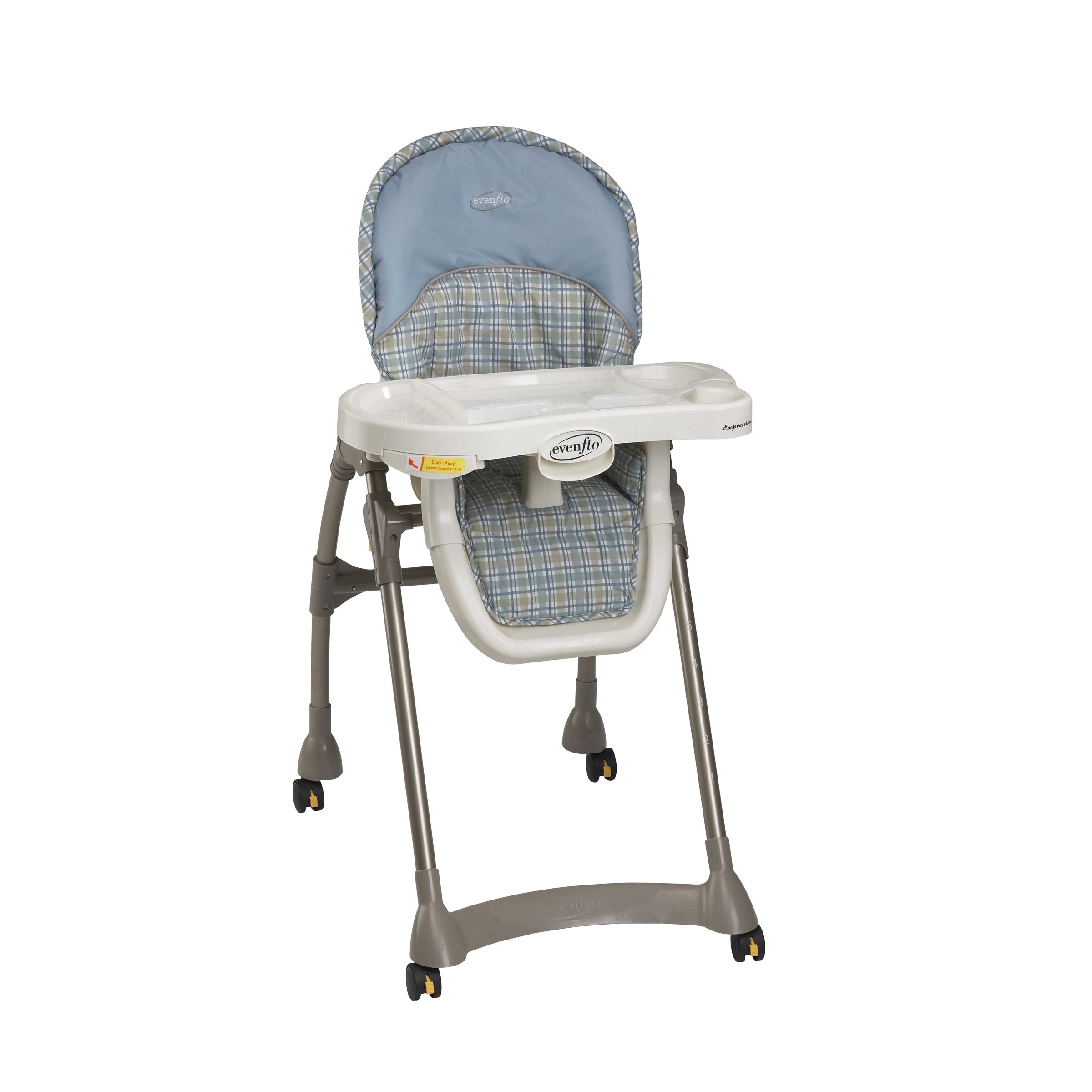 Evenflo Compact Fold High Chair Evenflo Expressions Plus High Chair