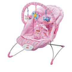Calming Vibrations Baby Chair Marcel Breuer Cesca Replacement Fisher Price Think Pink Bouncer