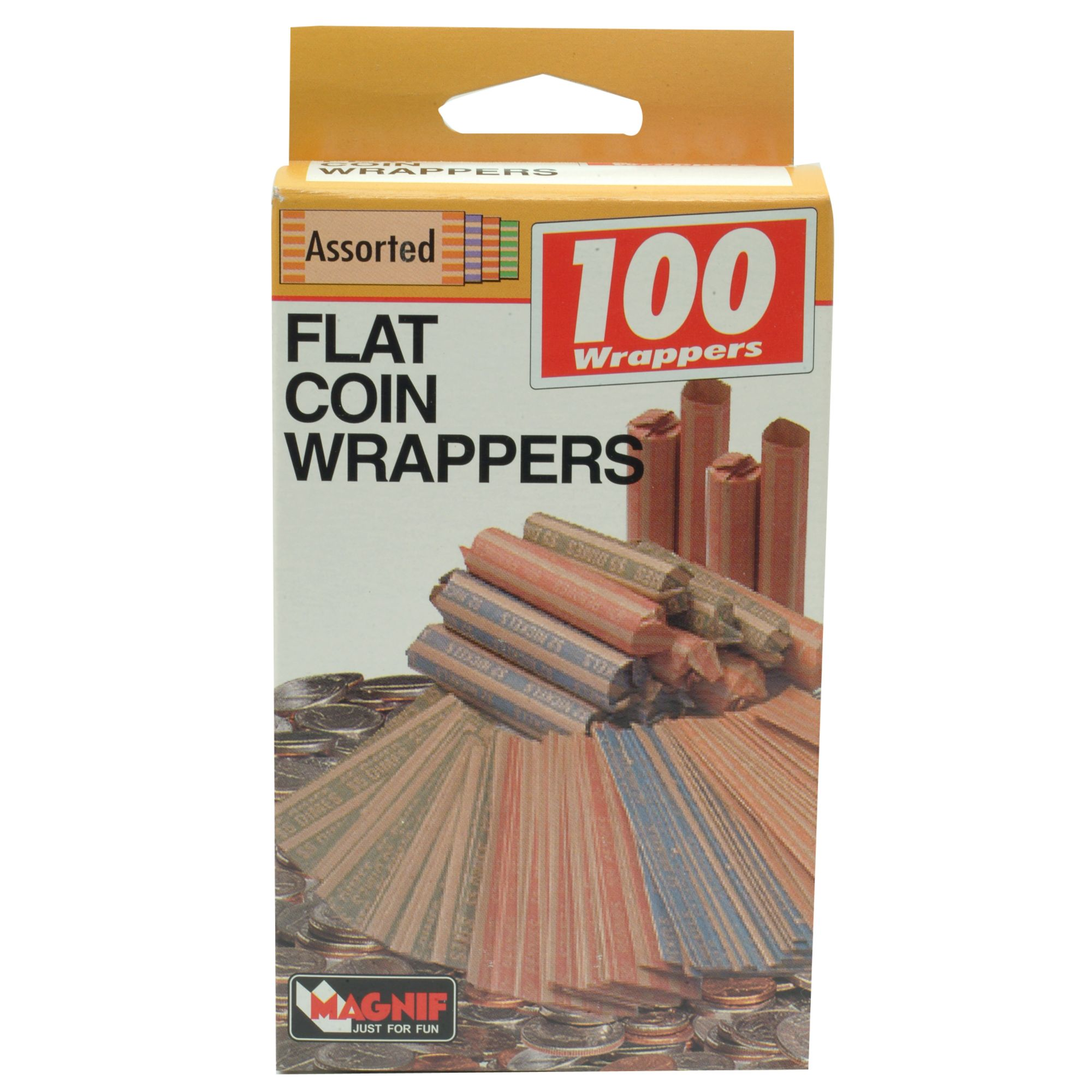 Crimpers Coin Wrappers - Year of Clean Water