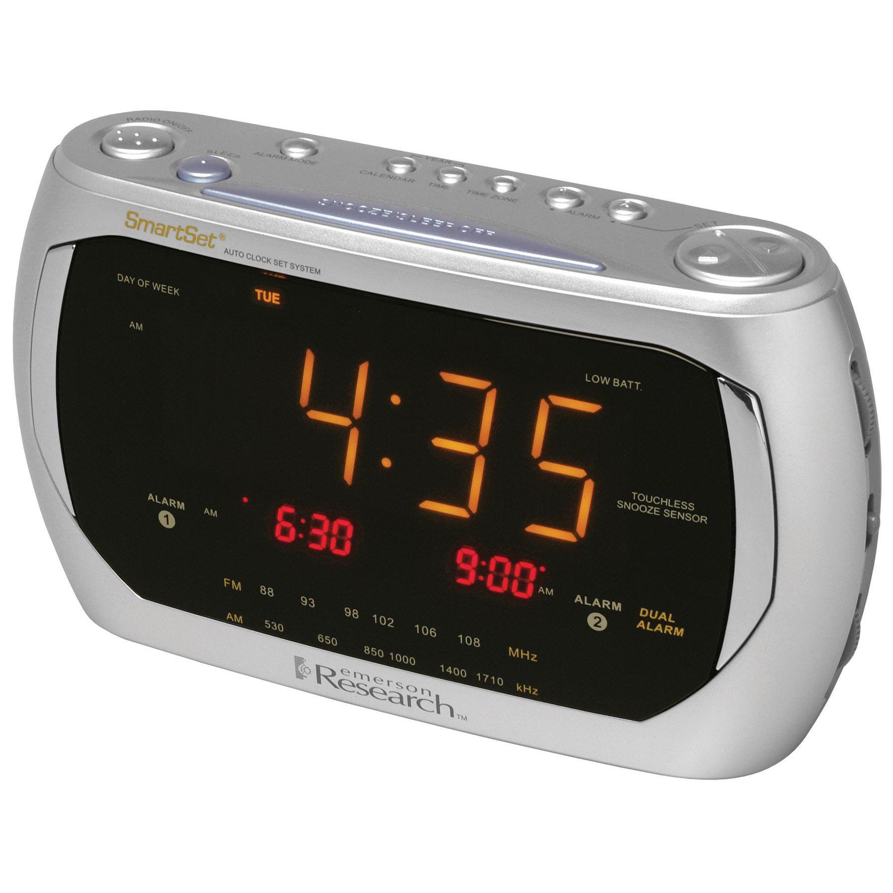 Emerson Cks3020 Fm Clock Radio With Dual Alarm