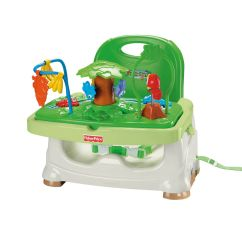 Rainforest High Chair Modern Kitchen Chairs Fisher Price Healthy Care Booster Seat Baby