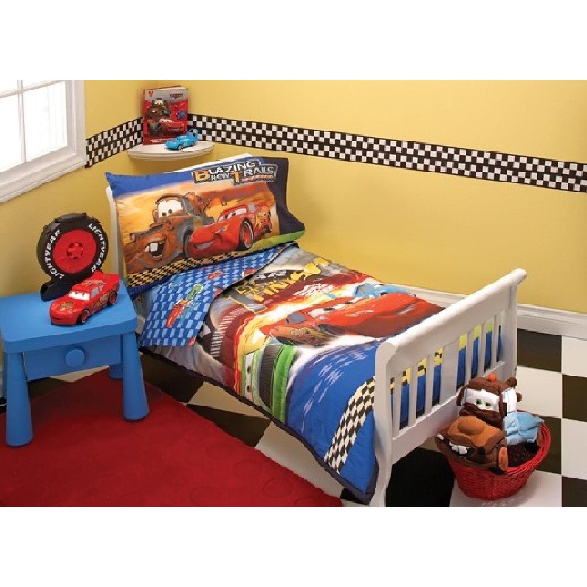 Mixed Brands Toddler Bedding Set Disney Cars 1st Finish