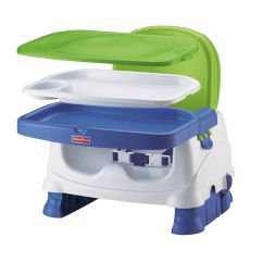 Fisher Price High Chair Seat Best Chairs Boosters Sears Healthy Care Deluxe Booster Blue Green Gray