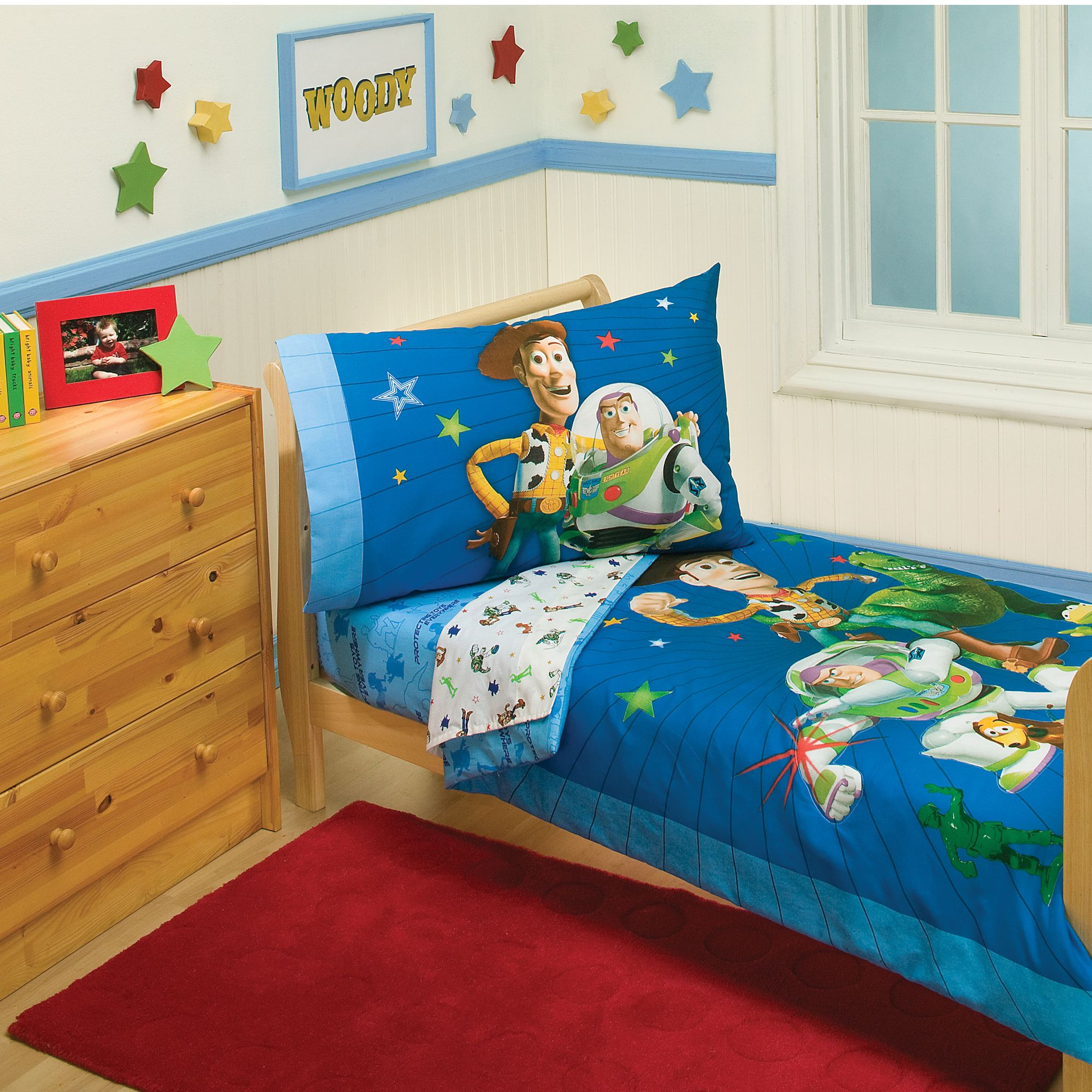 Disney Toy Story 4-piece Toddler Bed Set