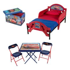 Disney Table And Chair Set Ikneadu Massage Delta Children Pixar Cars Room In A Box With
