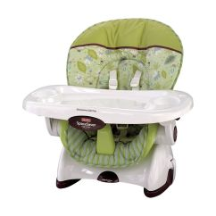 Fisher Price Space Saving High Chair All Weather Outdoor Cushions Saver Scatterbug