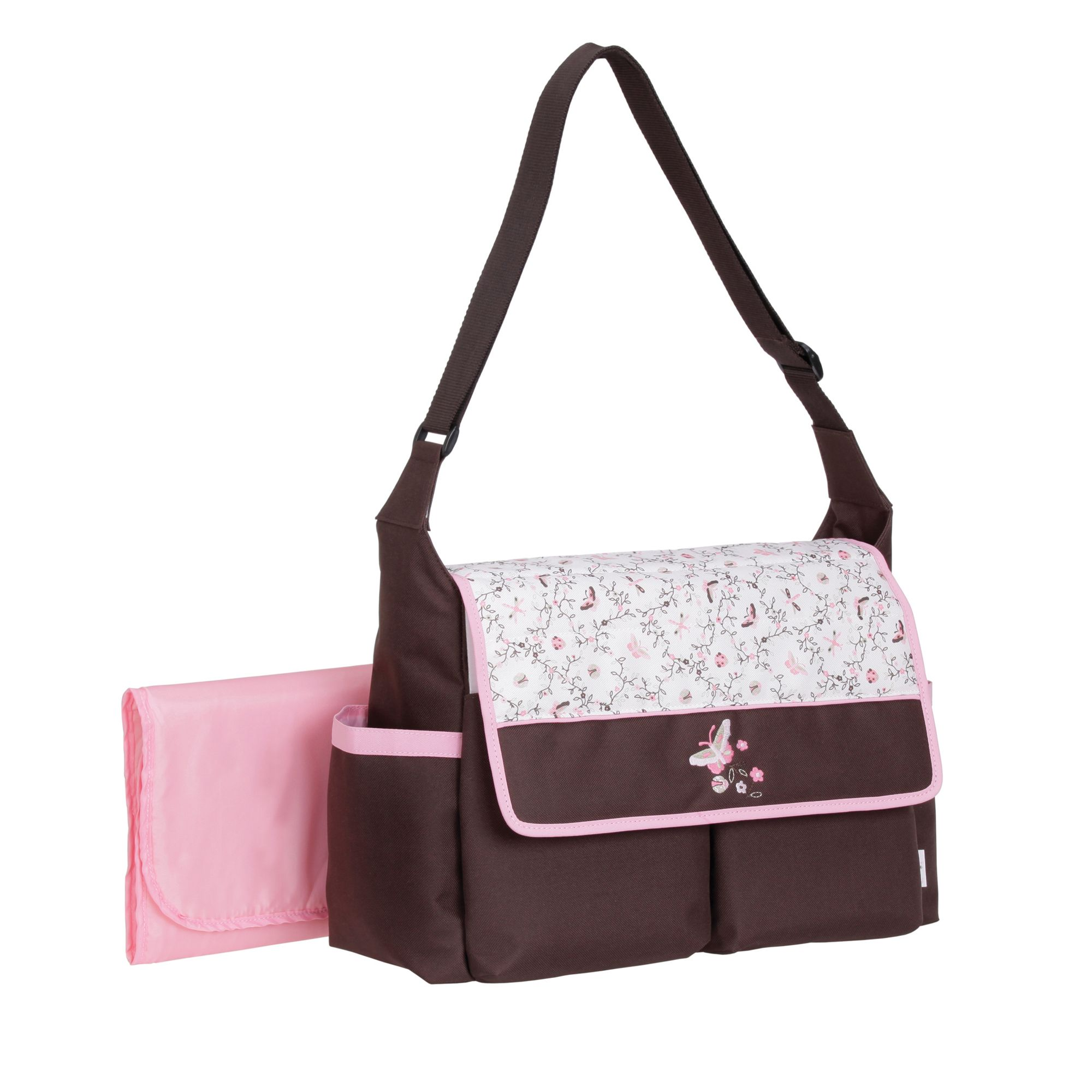 Multiple Pocket Diaper Bag Moving With Baby Accessories Kmart