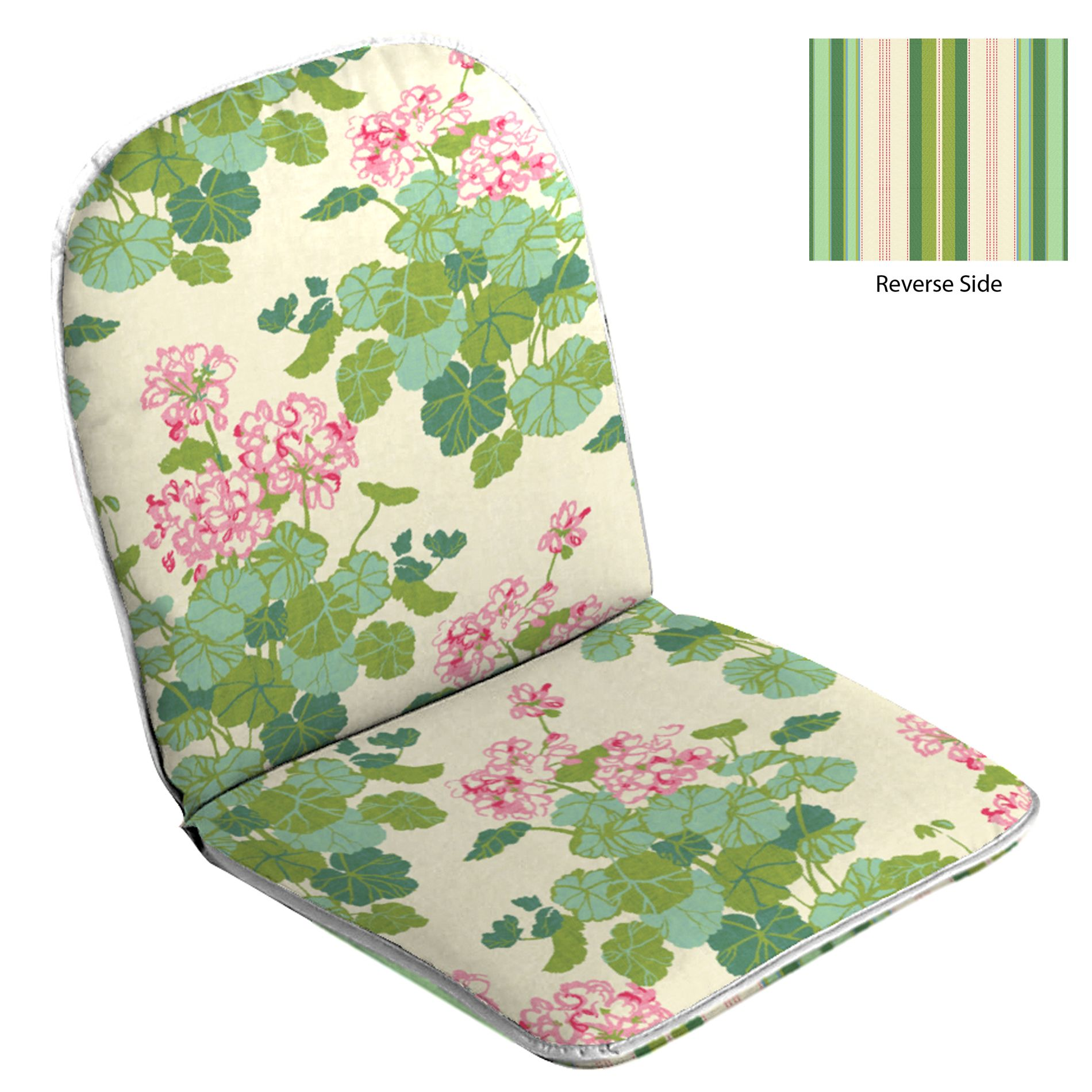 Pink Chair Cushions Country Living Patio Hinged Chair Cushion Emma Pink Emma