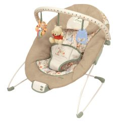 Infant Bouncy Chair Lift Recliner Chairs Kids Ii Winnie The Pooh Cradling Baby Bouncer