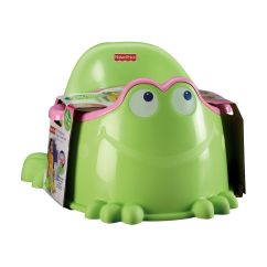 Frog Potty Chair Personalized Rocking For Baby Fisher Price Pink Froggy