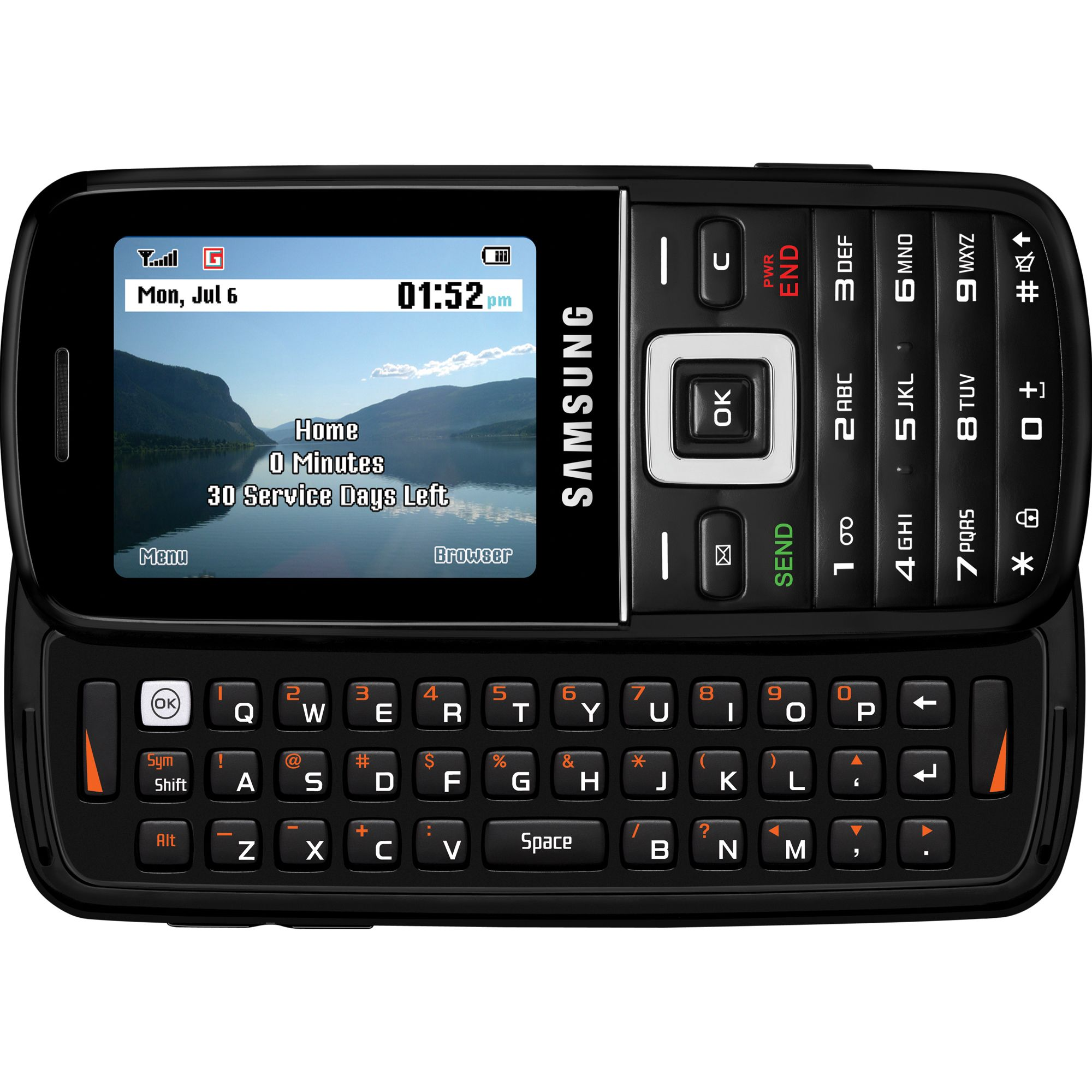 Net10 Samsung T401g Pre-paid Cell Phone - Tvs & Electronics Phones