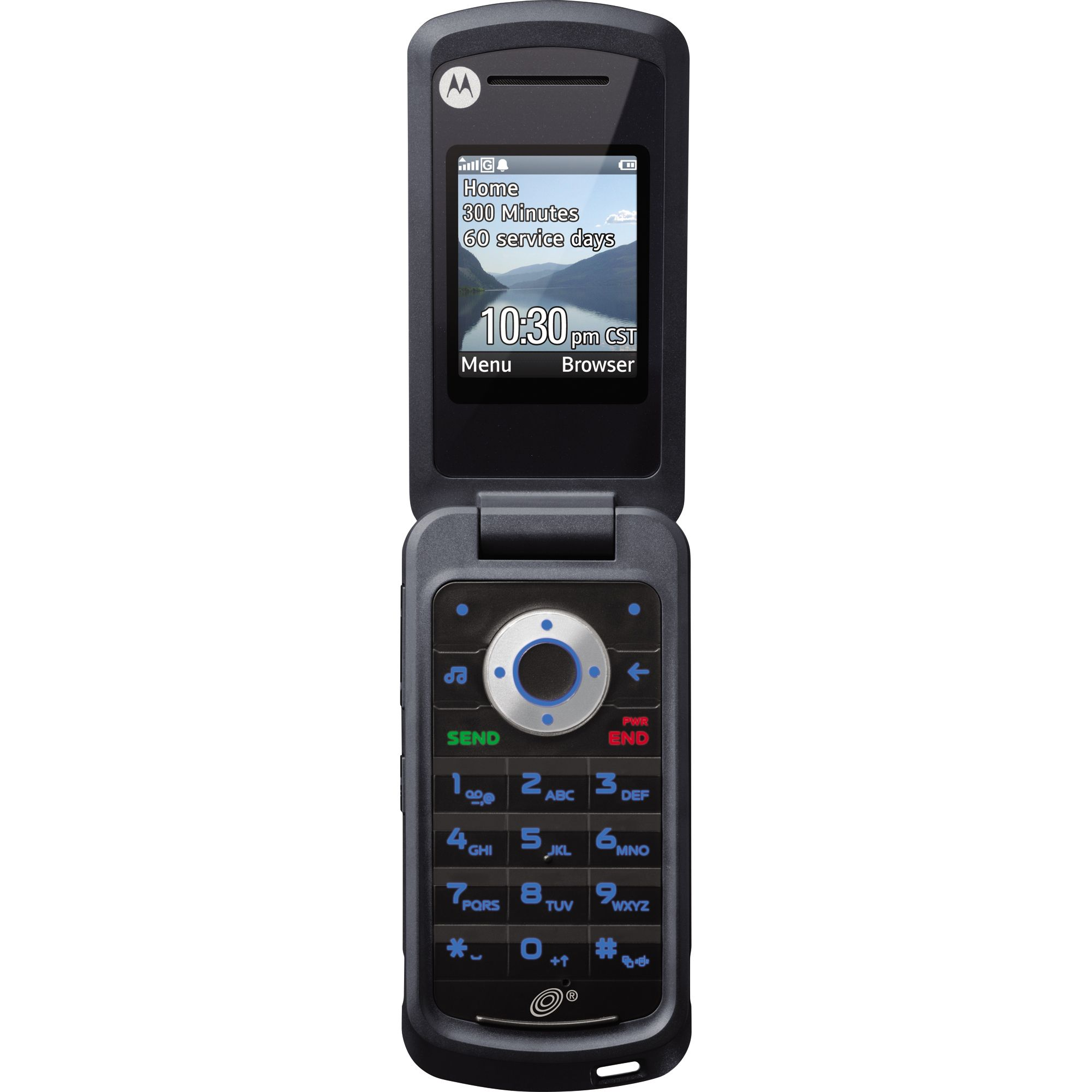 Net10 W408 -contract Mobile Phone - Black Tvs & Electronics Phones Cell