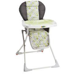 Evenflo Compact High Chair Roman Workout Abs Snap Mesa Green