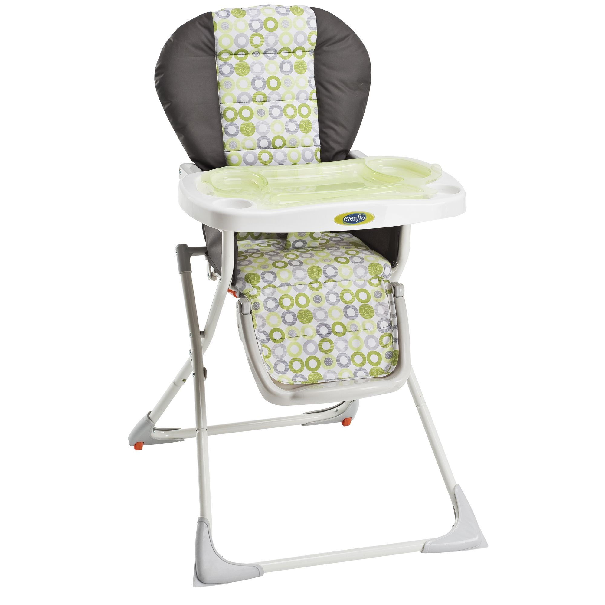evenflo high chair easy fold recall childrens table and snap mesa green