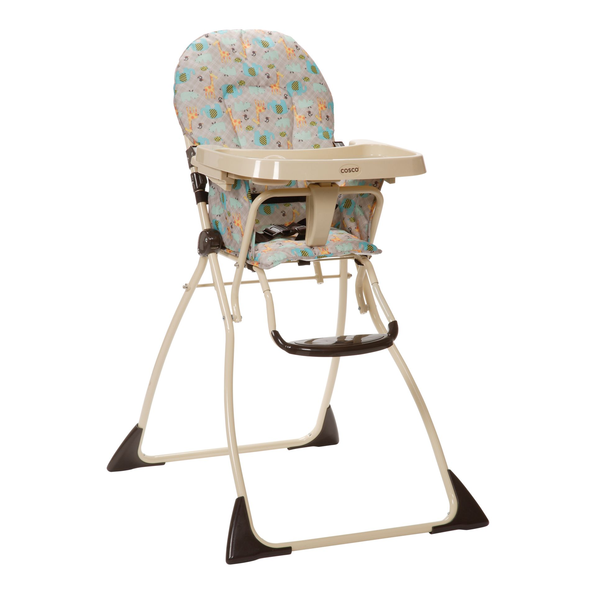 how to fold up a cosco high chair sure fit covers target flat kenya