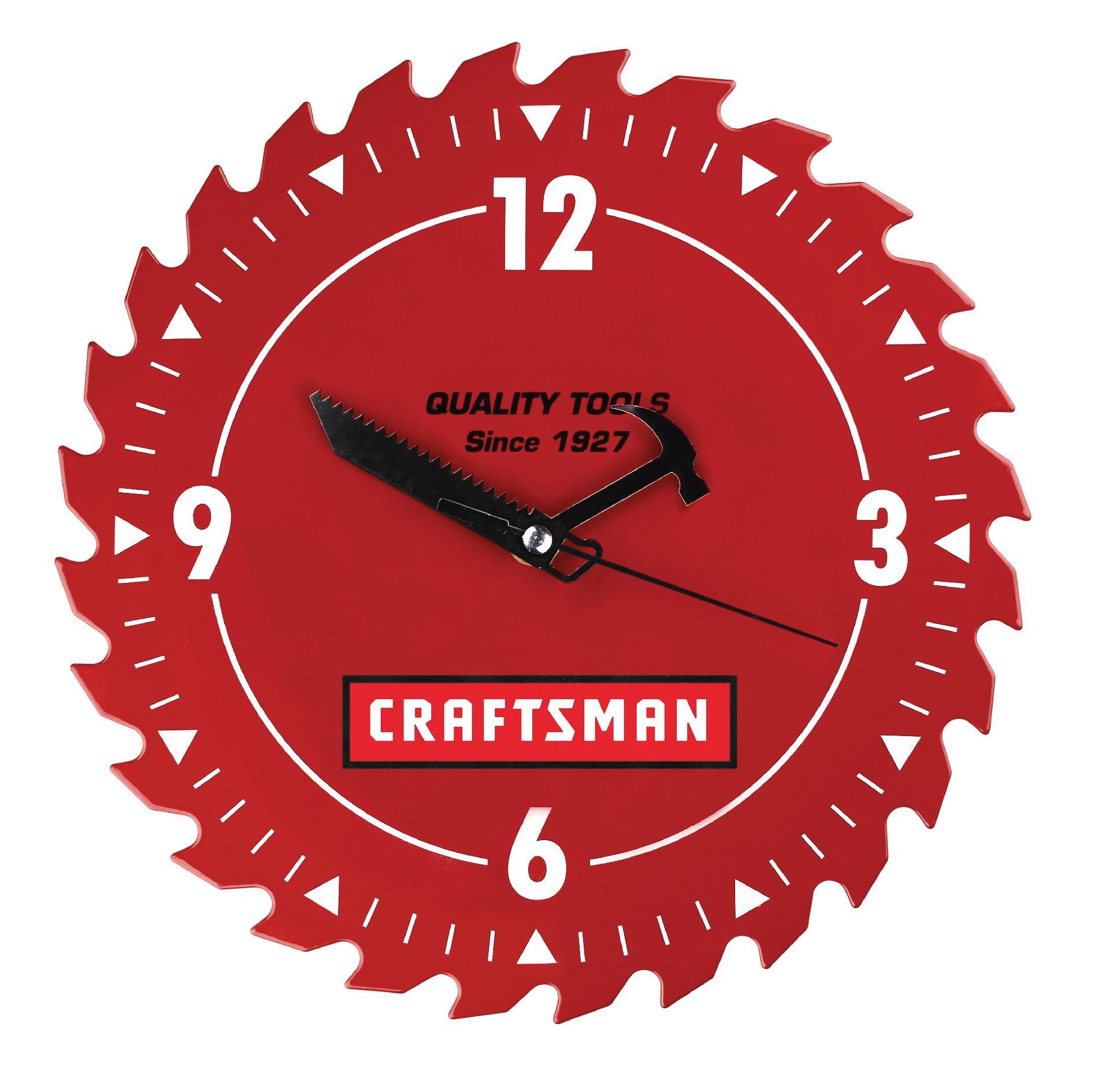 "Craftsman 10"" Shop Clock"