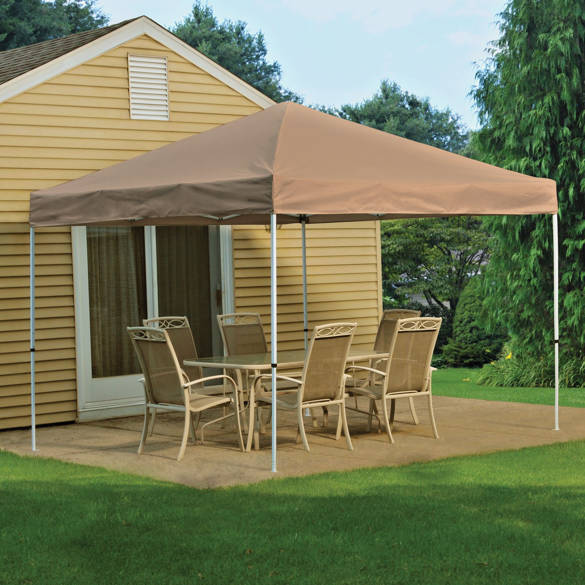 Screen Houses Stay Cool With Instant Canopies From Kmart