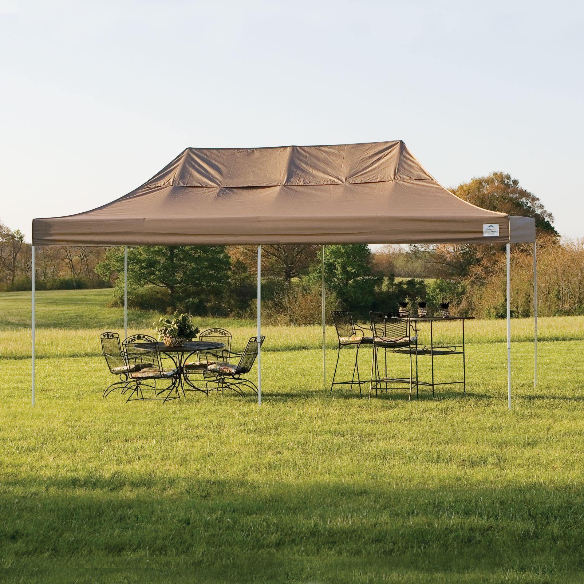 ShelterLogic PopUp 10 x 20 Truss Pro Canopy with Desert