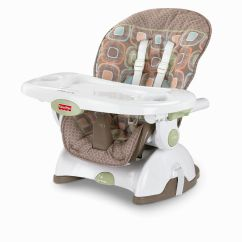 Fisher Price Booster High Chair Ikea Corner Space Saver Highchair And Seat Baby